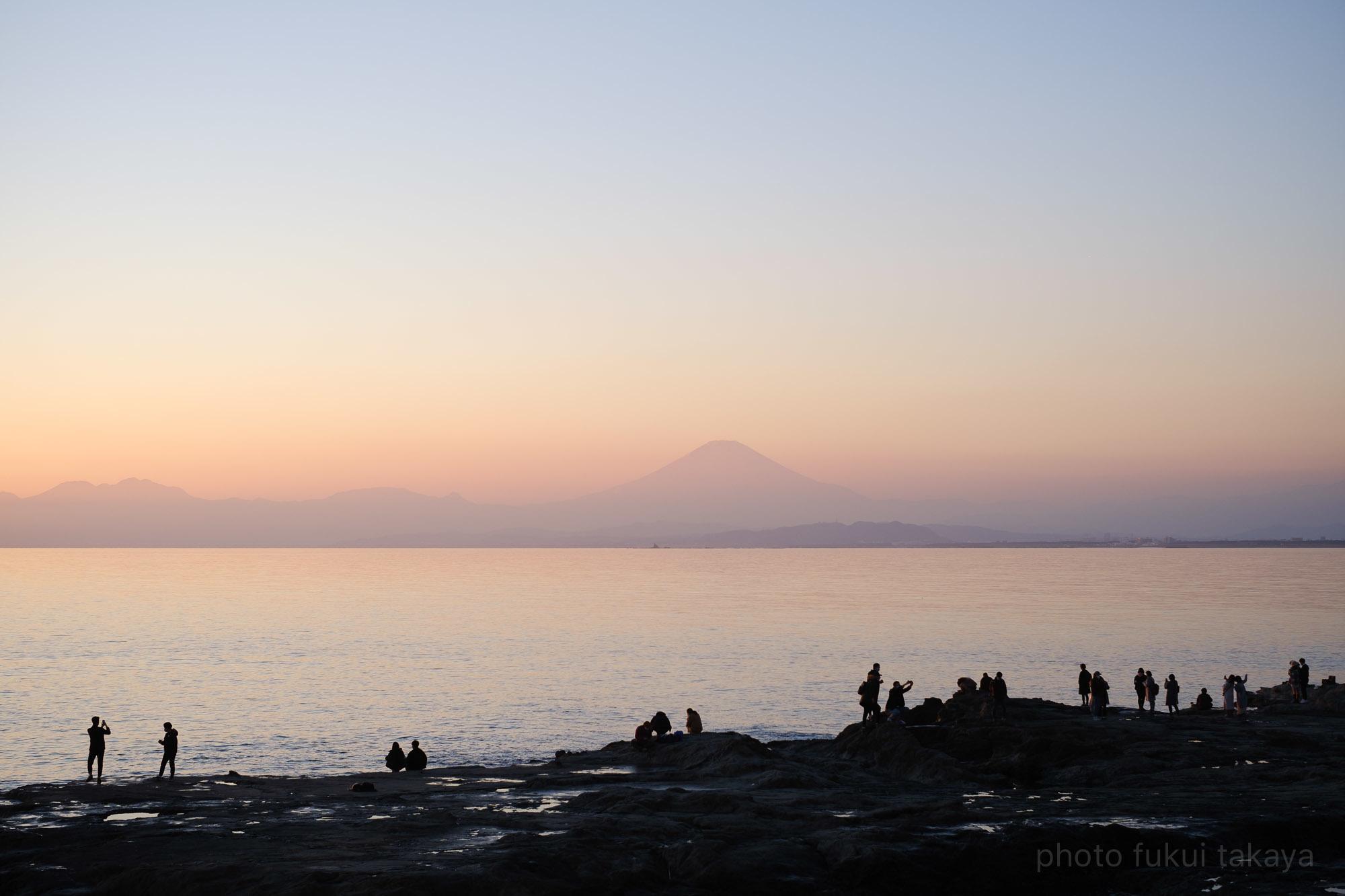 江ノ島より、富士山をのぞむ_e0044885_11314420.jpeg