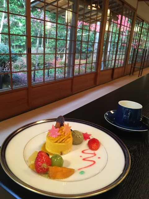2020年秋の京都へ⑪嵐山最後は「こい茶屋デセール」へ_f0146587_19525155.jpg