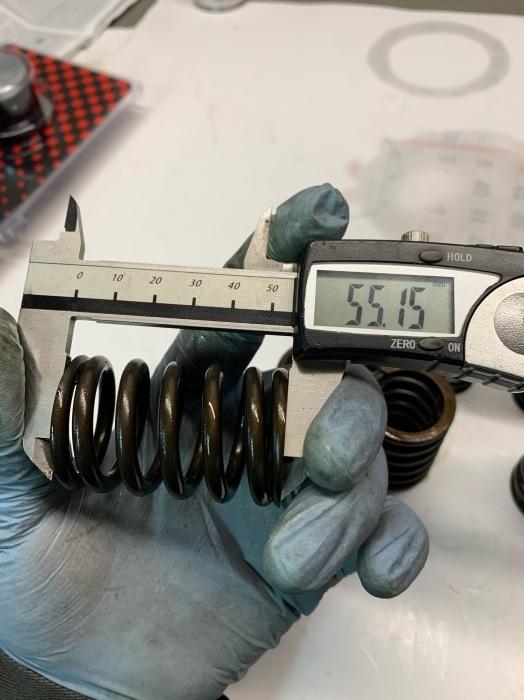 1994 FLSTN ピストンリングギャップ&バルブスプリングのプレッシャー測定、調整!_c0226202_08402910.jpeg