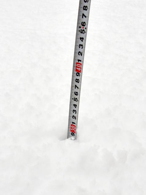 雪の大晦日 12/31_b0214652_17453673.jpg