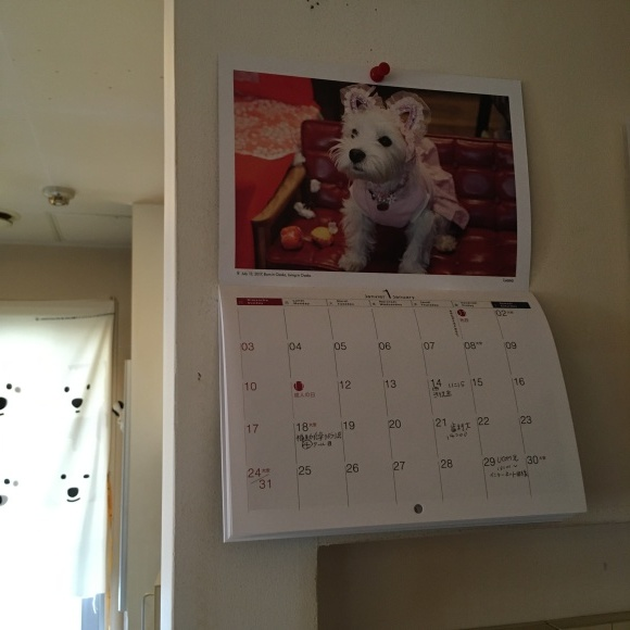 ミニカレンダーはダイアリーにも。_b0107163_13245274.jpg