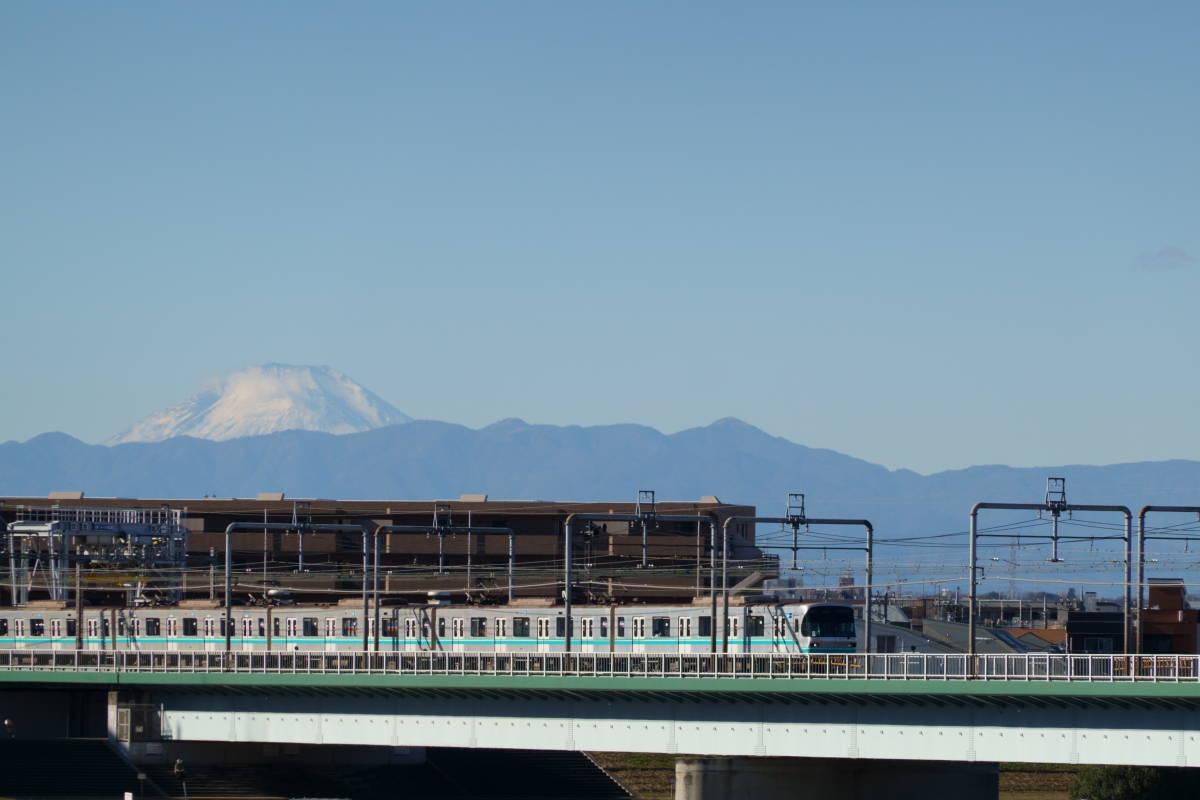 多摩川  新しい相棒RX100M7で富士山_b0061717_02130183.jpg