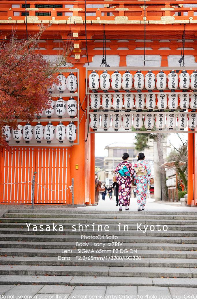 京都 八坂神社にご挨拶、65mm一本勝負 SIGMA 65mm F2 DG DN 作例_f0212049_23530727.jpg