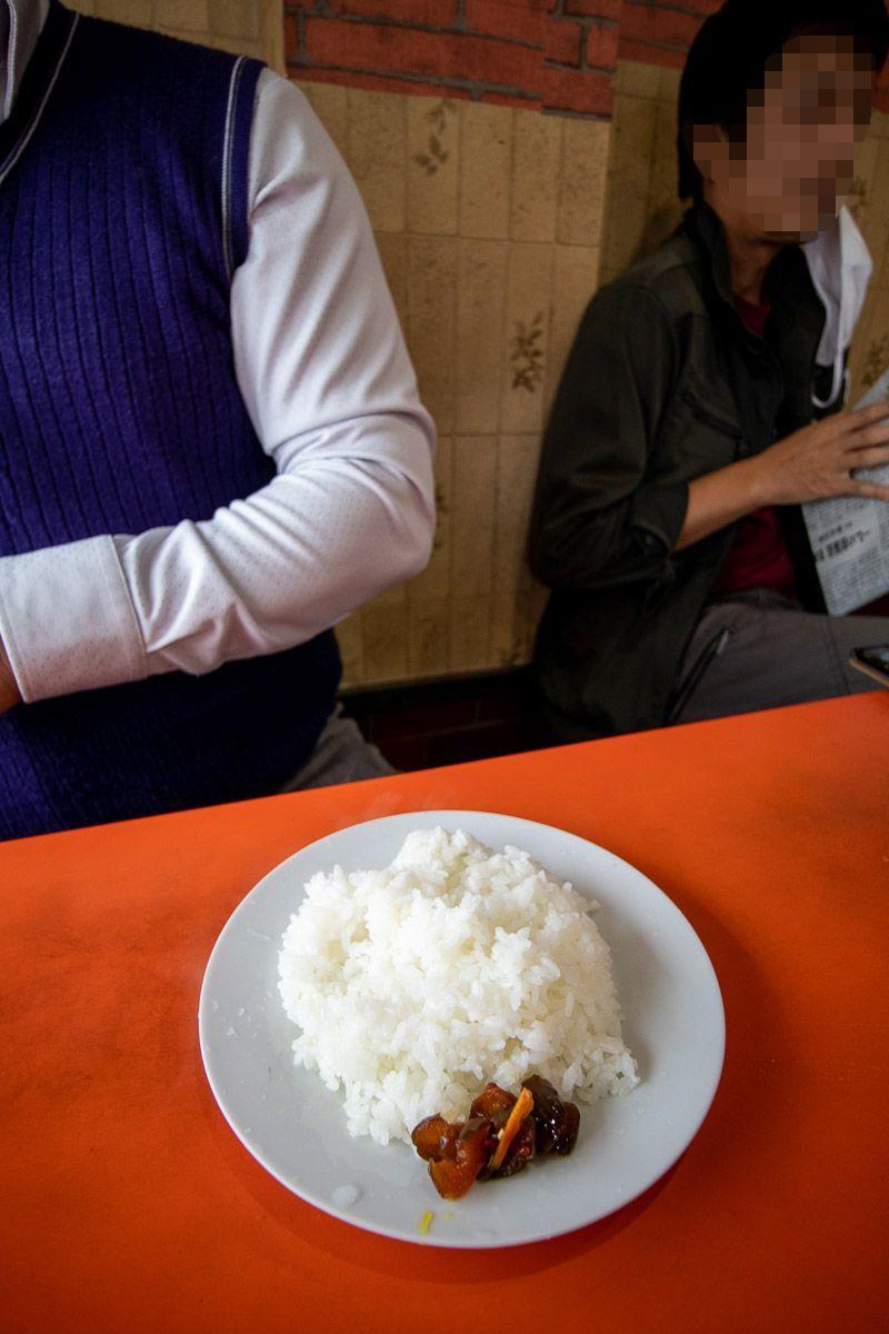 中華料理 天山でブタ丼_a0077663_15484169.jpg