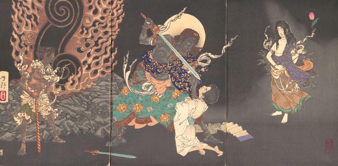【成田山と浄土宗】剣を呑む祐天上人のモチーフあれこれ_b0116271_21575462.jpg