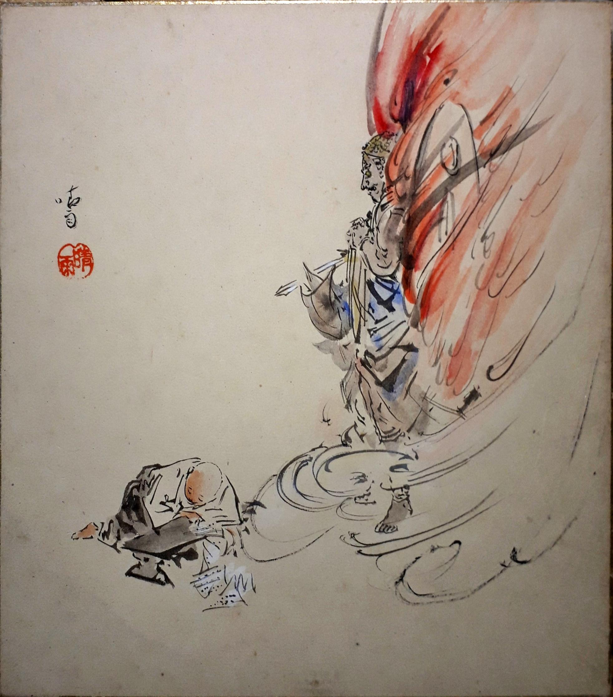 【成田山と浄土宗】剣を呑む祐天上人のモチーフあれこれ_b0116271_21575505.jpg
