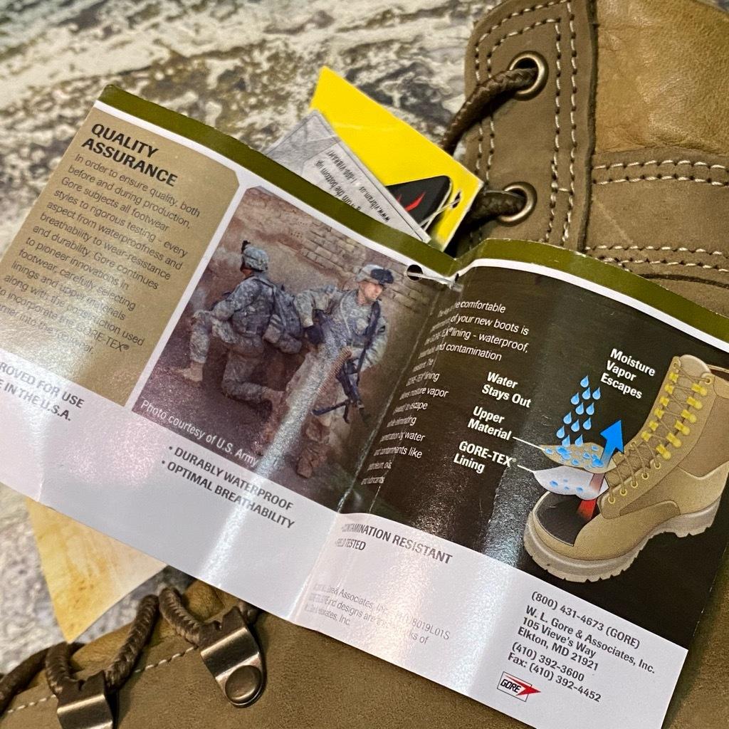"""2021年1月3日(日)マグネッツ大阪店モダンミリタリー入荷日!! #4  Boots編!! NOS \""""Belleville\"""" MCB 950,NOS \""""WELLCO\"""" U.S.M.C RatBoot_c0078587_10283135.jpg"""