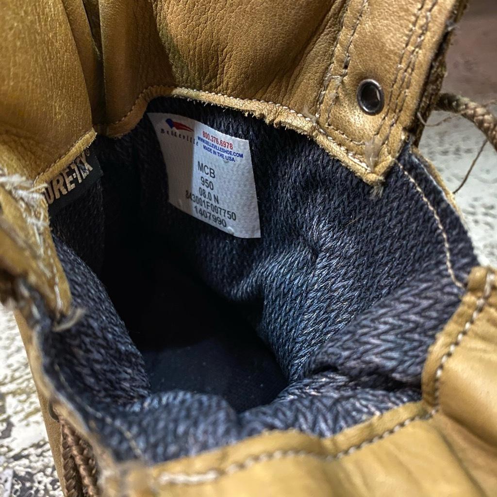 """2021年1月3日(日)マグネッツ大阪店モダンミリタリー入荷日!! #4  Boots編!! NOS \""""Belleville\"""" MCB 950,NOS \""""WELLCO\"""" U.S.M.C RatBoot_c0078587_10284110.jpg"""