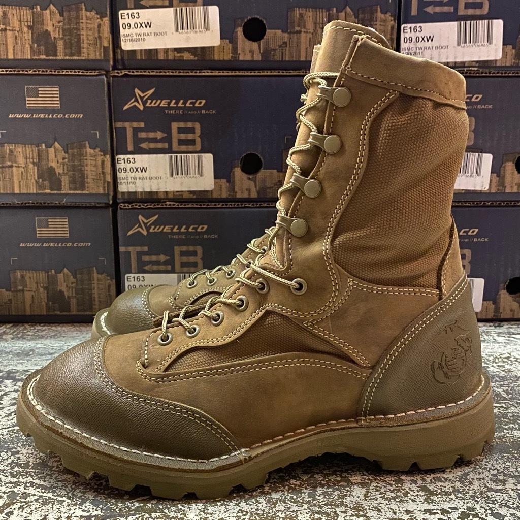 """2021年1月3日(日)マグネッツ大阪店モダンミリタリー入荷日!! #4  Boots編!! NOS \""""Belleville\"""" MCB 950,NOS \""""WELLCO\"""" U.S.M.C RatBoot_c0078587_10333630.jpg"""