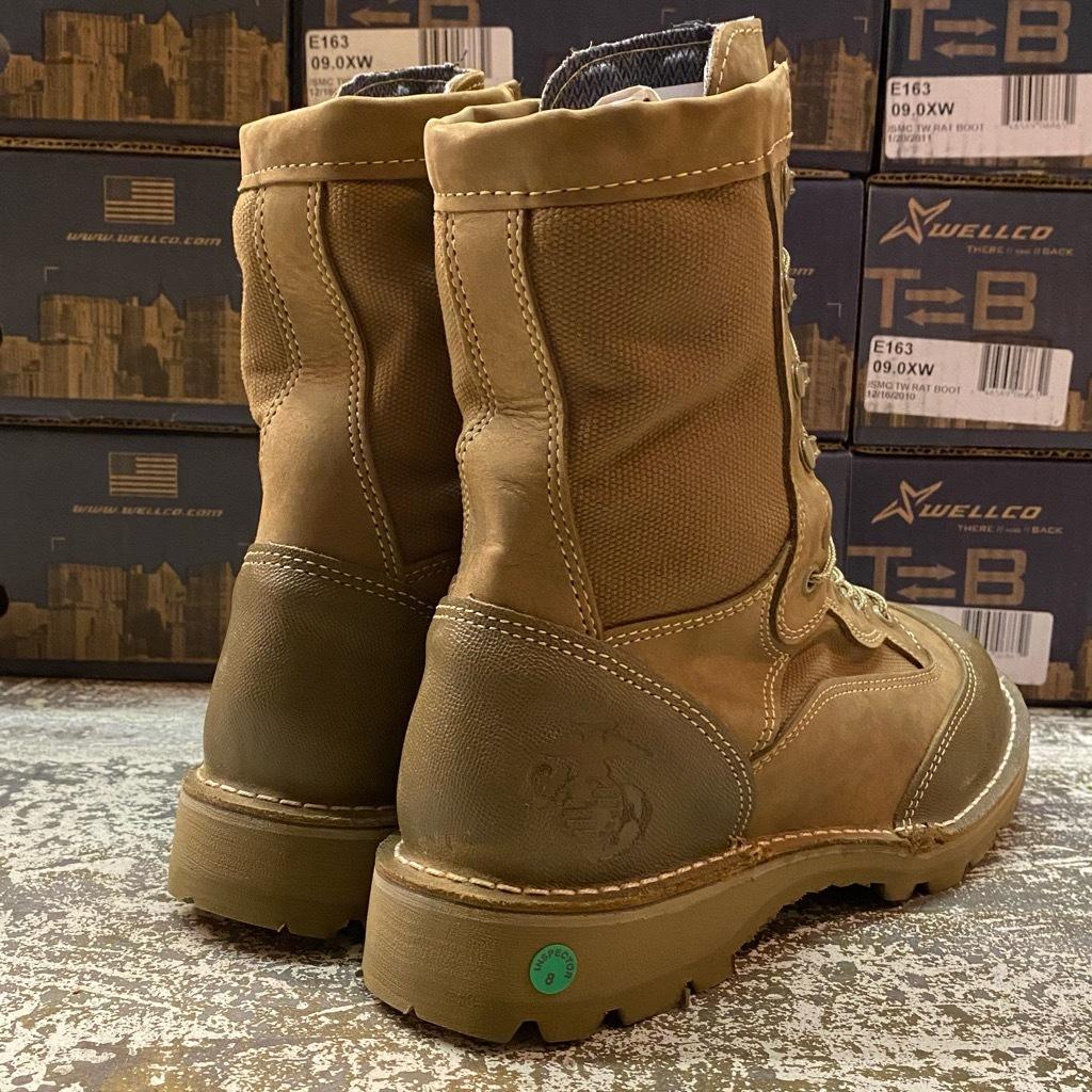 """2021年1月3日(日)マグネッツ大阪店モダンミリタリー入荷日!! #4  Boots編!! NOS \""""Belleville\"""" MCB 950,NOS \""""WELLCO\"""" U.S.M.C RatBoot_c0078587_10333850.jpg"""