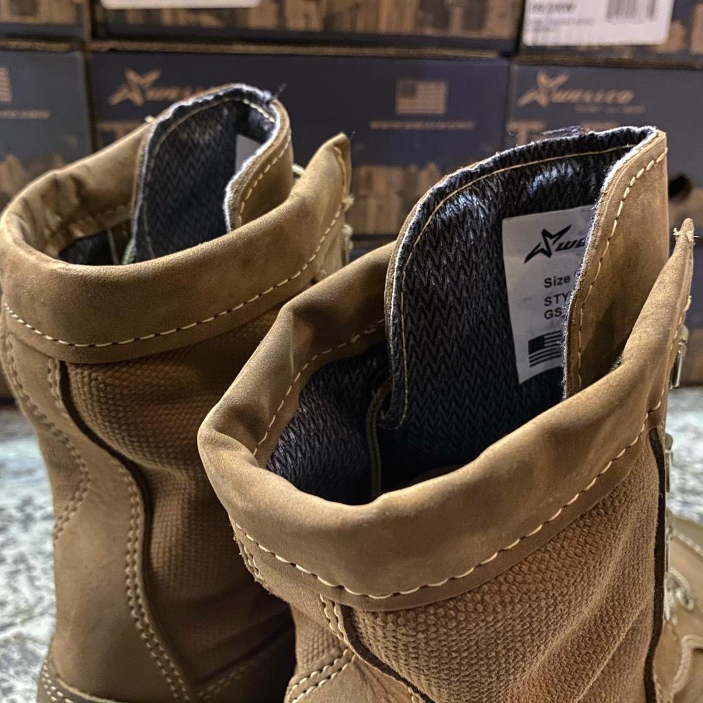 """2021年1月3日(日)マグネッツ大阪店モダンミリタリー入荷日!! #4  Boots編!! NOS \""""Belleville\"""" MCB 950,NOS \""""WELLCO\"""" U.S.M.C RatBoot_c0078587_10335770.jpg"""