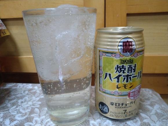 1/2 ヱビスビール、Takara焼酎ハイボールレモン、おでん、ダシ割り@自宅_b0042308_19185242.jpg