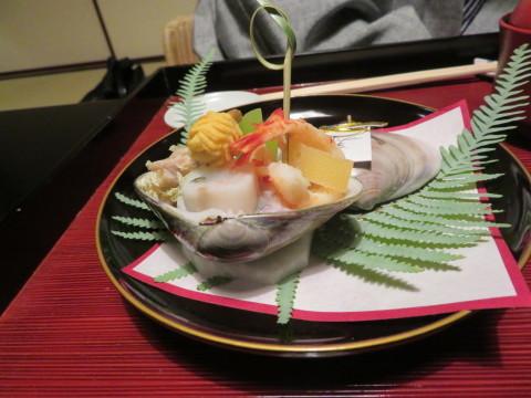 夕食、1月1日、翠の間、俵屋旅館にお邪魔。_d0019916_09465049.jpg