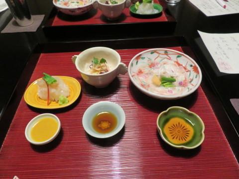 夕食、1月1日、翠の間、俵屋旅館にお邪魔。_d0019916_09491591.jpg