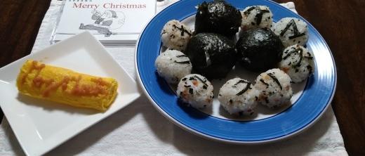 メリークリスマスの朝食_b0117476_23033094.jpg