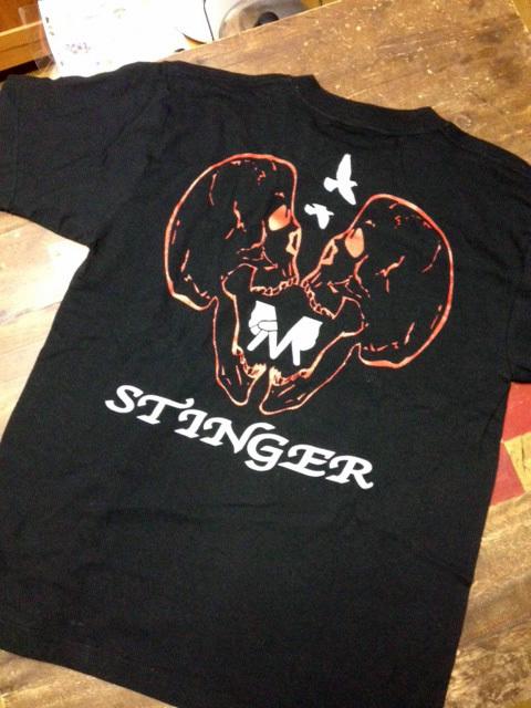 STINGER merchandises、_f0141912_09084926.jpg
