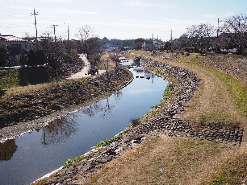 【カメラ散歩】武蔵野の風情・柳瀬川と清瀬金山緑地公園_b0008655_16085956.jpg