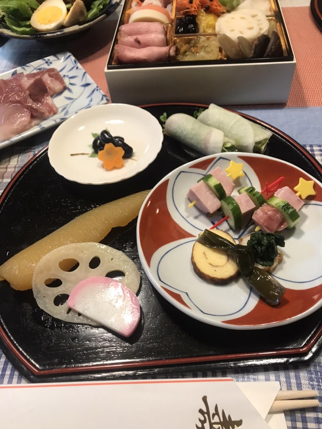 文君家族と一緒の年始の食事会(´∀`*)ウフフ🎵_c0216472_14351475.jpg