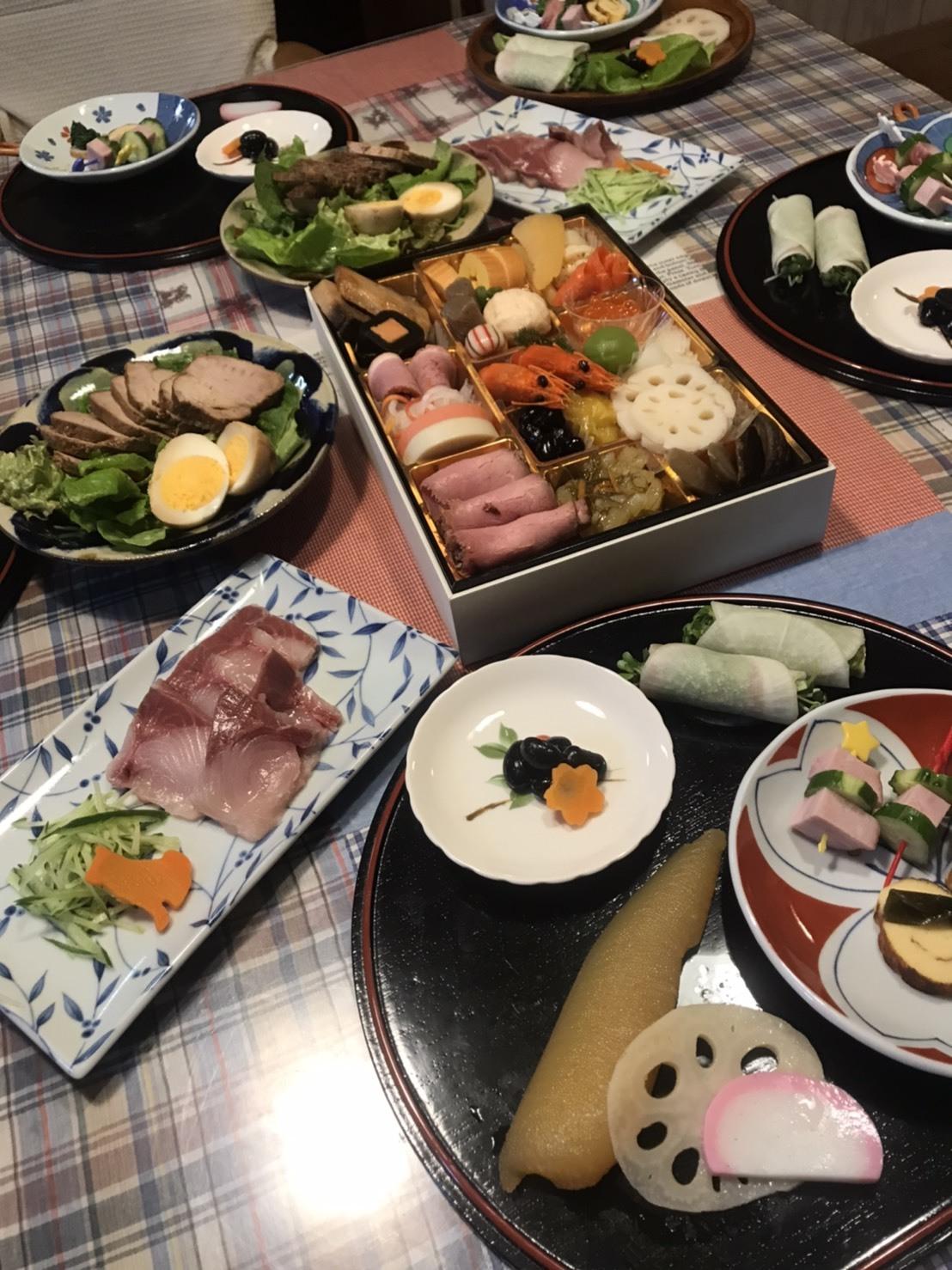文君家族と一緒の年始の食事会(´∀`*)ウフフ🎵_c0216472_14374338.jpg