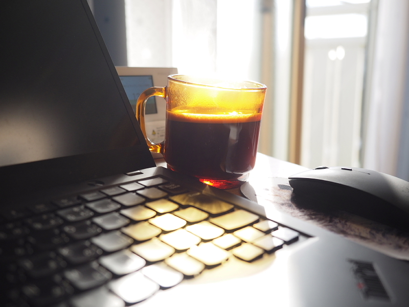 【私の独り暮らし物語⑤】コーヒー2000杯 ~奥さんからの贈り物_b0008655_22094756.jpg