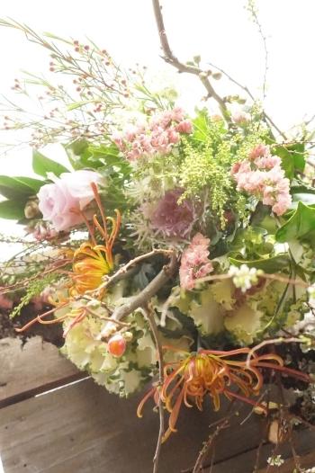 KACHAOさんのお正月花(ブーケ)_b0151911_23232715.jpg