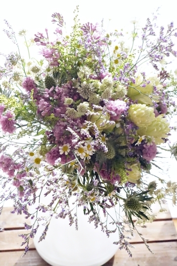 KACHAOさんのお正月花(ブーケ)_b0151911_23244489.jpg