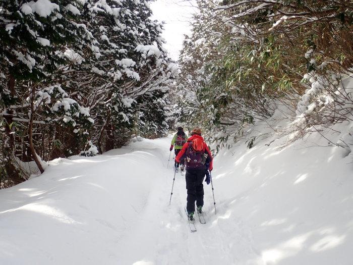 安達太良山(峰の辻まで)~ 2021年1月3日_f0170180_21545821.jpg