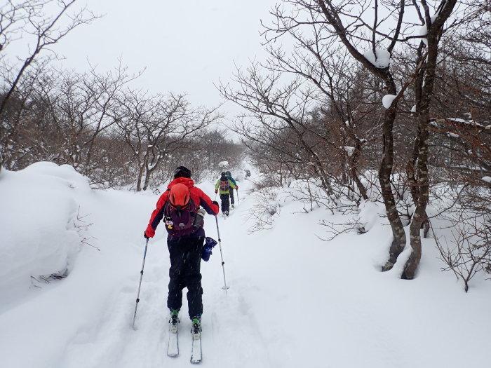 安達太良山(峰の辻まで)~ 2021年1月3日_f0170180_21572014.jpg