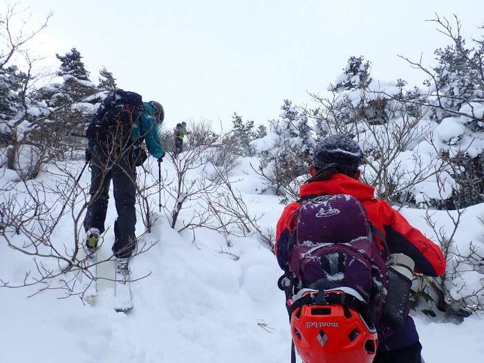 安達太良山(峰の辻まで)~ 2021年1月3日_f0170180_21591012.jpg