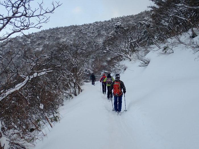 安達太良山(峰の辻まで)~ 2021年1月3日_f0170180_22131530.jpg