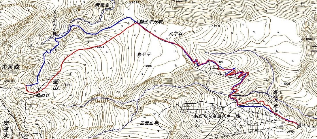 安達太良山(峰の辻まで)~ 2021年1月3日_f0170180_22320539.jpg