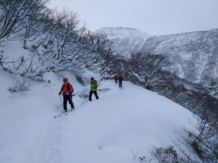 安達太良山(峰の辻まで)~ 2021年1月3日_f0170180_22392587.jpg