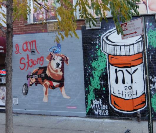 じわじわ、じっくりニューヨークの壁画巡り、イースト・ビレッジお散歩_b0007805_02020467.jpg