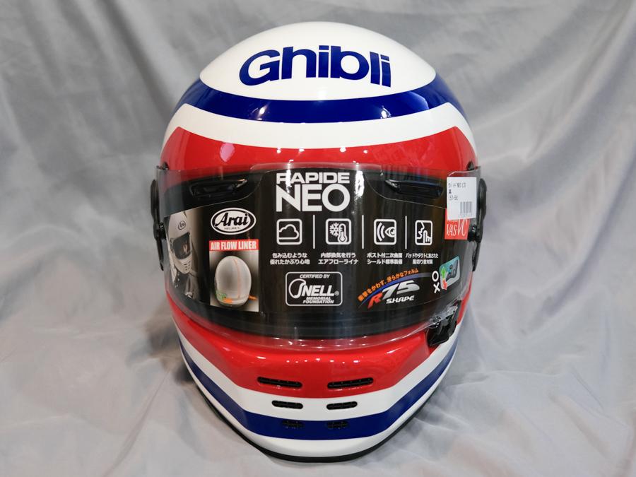 "Arai Helmet RAPIDE NEOX \""フランコ・ウンチーニ""レプリカ_f0369107_09393699.jpg"
