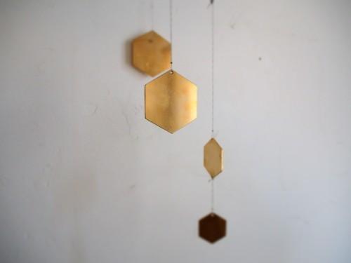 六角形真鍮モビール_c0148232_14363698.jpg