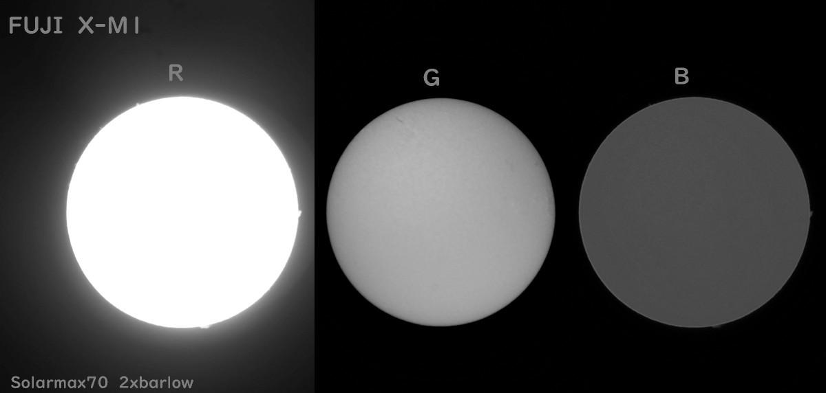 いろんなデジカメで太陽を撮ってみる(3) 富士フィルム X-M1_a0095470_00501670.jpg