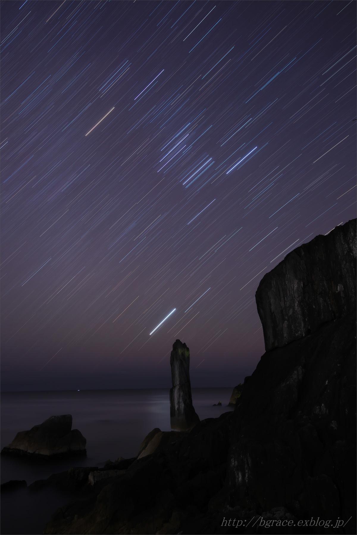 折石に昇るオリオン_b0191074_20533493.jpg