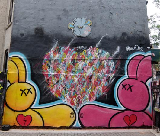 じわじわ、じっくりニューヨークの壁画巡り、Lower East Sideお散歩_b0007805_00454363.jpg