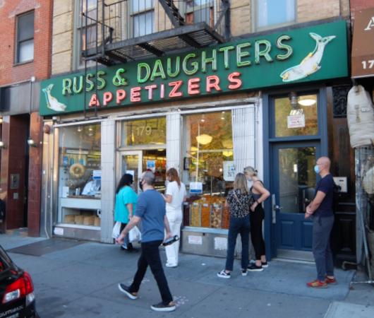 壁画巡りLower East Sideお散歩コース近くにある美味しい老舗の名店_b0007805_22400538.jpg