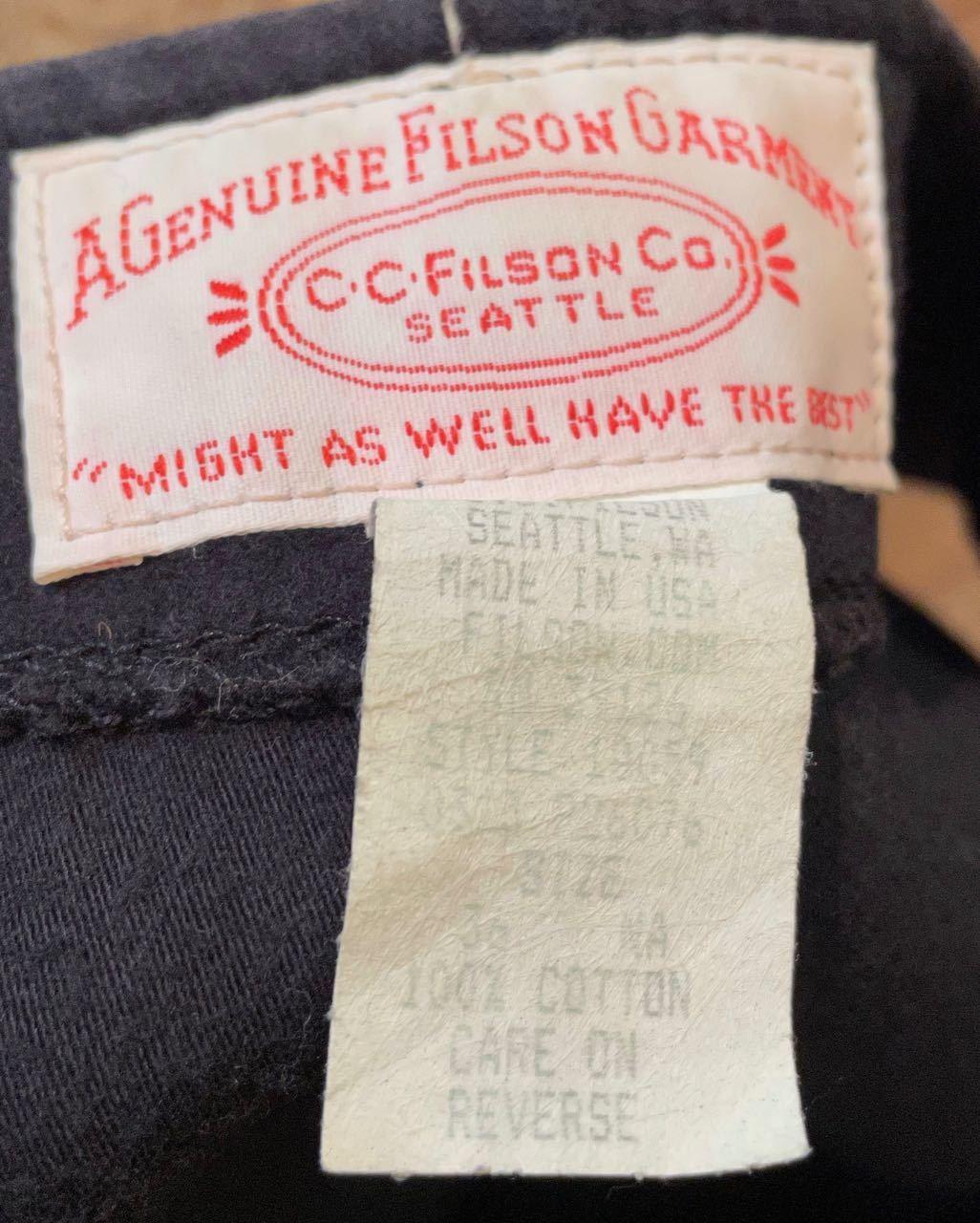 1月9日(土)入荷!MADE IN U.S.A FILSON  chamois cloth フィルソン シャモアクロス ベスト!_c0144020_13260887.jpg