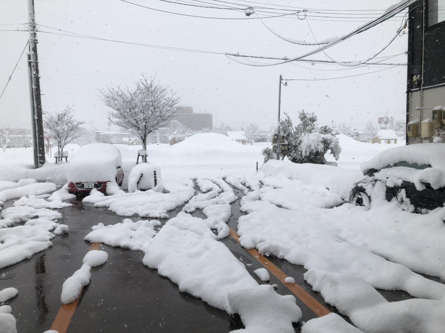 ロング丈のナイロンジャケットで除雪を楽し・・む。_b0139233_13220692.jpg