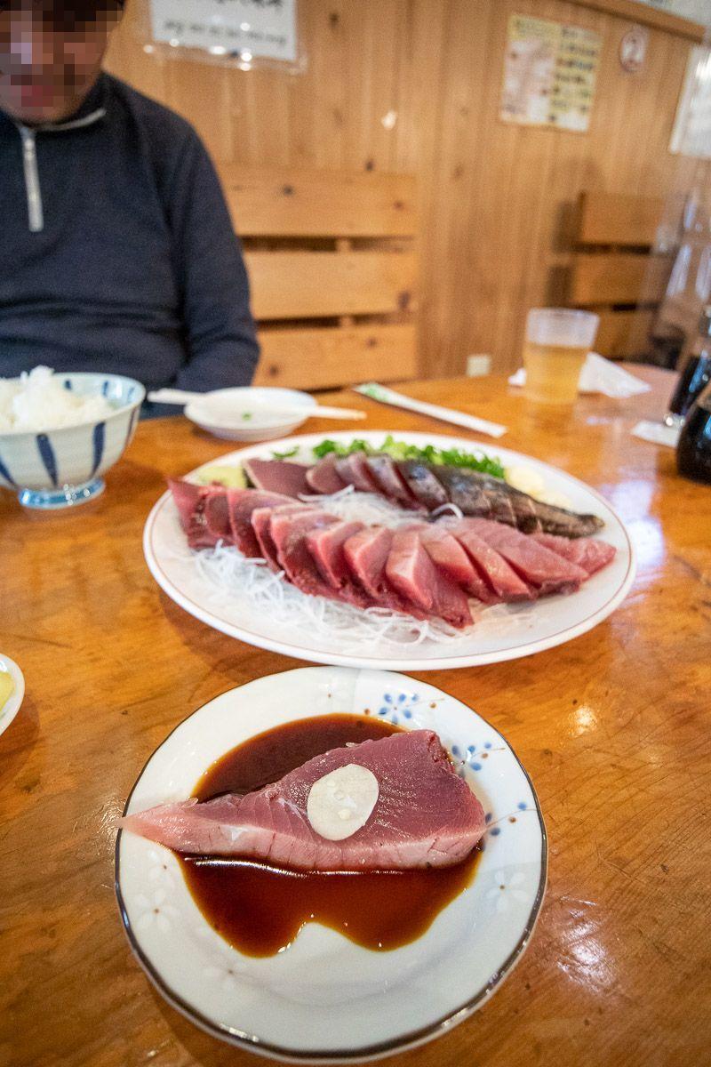 田中 鮮魚 店 たたき