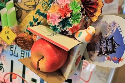 弘前盛り盛りの正月飾り*弘前市立観光館_d0131668_16243793.jpg