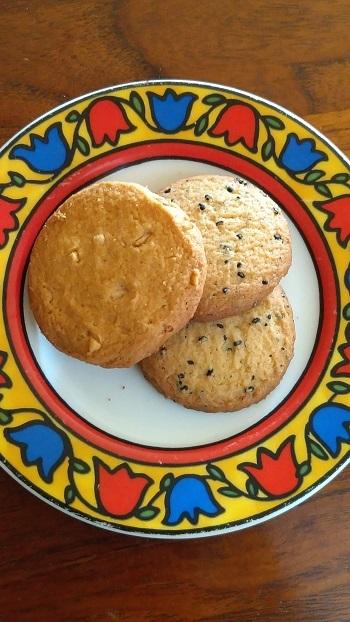 クッキー2種_f0026274_17252404.jpg