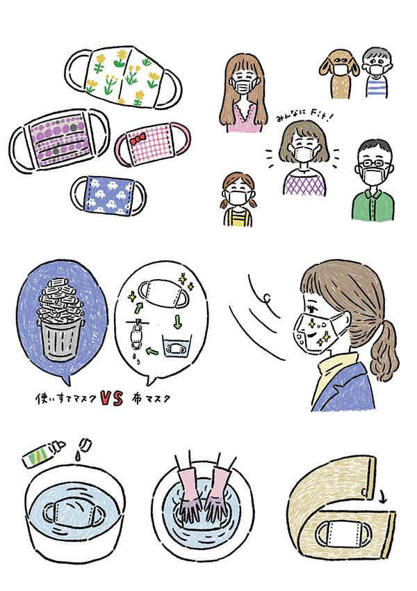 簡単、おしゃれなマスクの作り方_b0199592_15190891.jpg