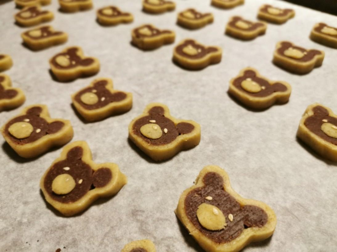 熊クッキーとファルソ・マーグロ_f0106597_02445660.jpg