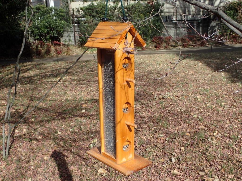 野鳥のエサ台を設置しました!_b0049307_11331625.jpg