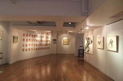 相撲力士の絵画作品に取り組む木村浩之展開催中!_d0178431_18371176.jpg