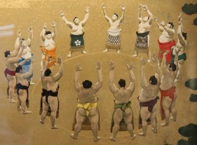 相撲力士の絵画作品に取り組む木村浩之展開催中!_d0178431_18390254.jpg