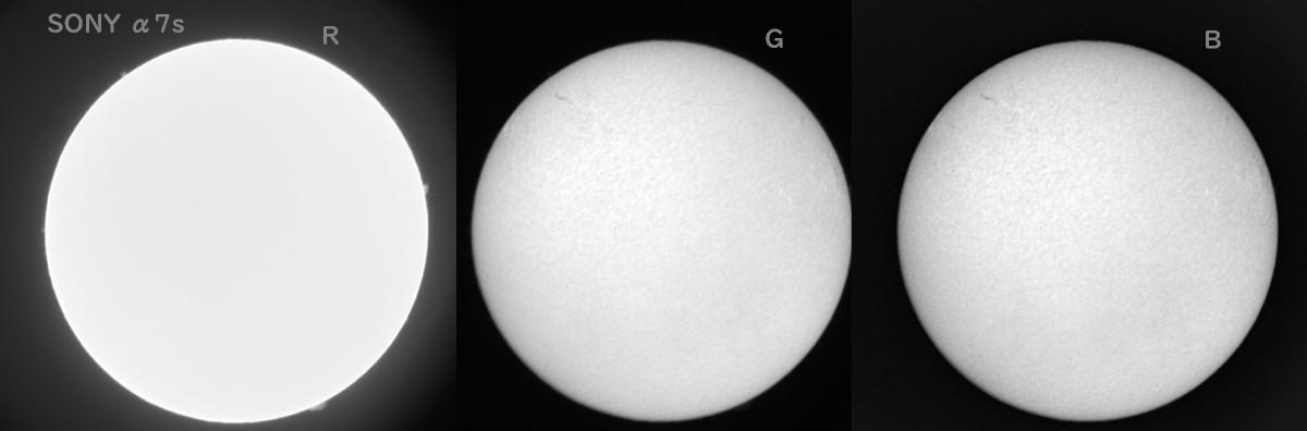 いろんなデジカメで太陽を撮ってみる(4) ソニーα7s(初代S)_a0095470_17415253.jpg